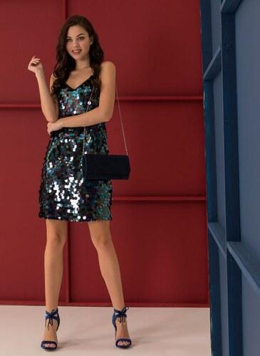 The Fashion Project Βραδινό φόρεμα με ιριδίζουσες παγιέτες - Μαύρο -  06279002001 c1c8d5ff583