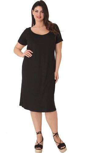 Basic Midi βισκόζ φόρεμα - Glami.gr b3f89aa1a83