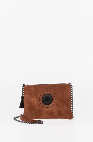 5d03b822bd Christina malle Miss Caramel - Mini τσάντα φάκελος Δέρμα - Glami.gr