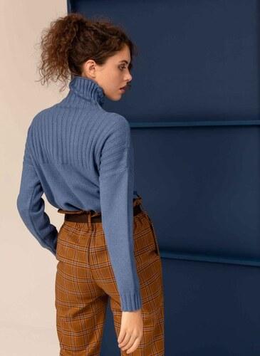 The Fashion Project Πουλοβεράκι με ψηλό γιακά - Μπλε - 009 - Glami.gr ae316c24a73