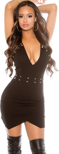 Style-Fashion 229N Μίνι Φόρεμα με τρουκς Μαύρο - Glami.gr 4a4a27ea2d4