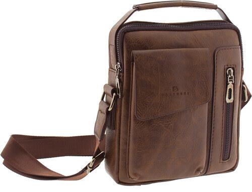 e931d2e273 Ανδρική τσάντα ταχυδρόμου Bartuggi 82-718-41803-Καφέ 82-718-41803 ...