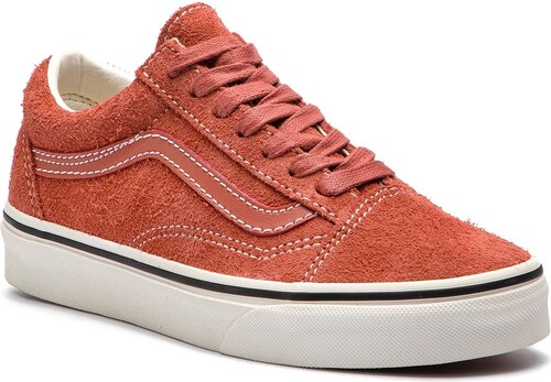 773435cf757 Πάνινα παπούτσια VANS - Old Skool VN0A38G1UNG1 (Hairy Suede) Hot Sauce/S