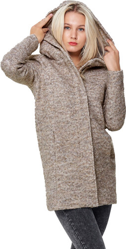 ONLY Sedona Boucle Wool Coat MPEZ (15156578.N) - Glami.gr 2bcd2c44dff