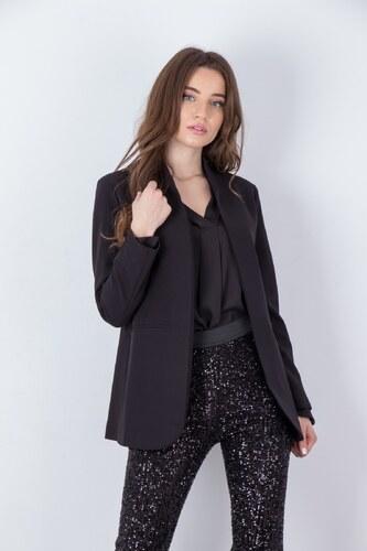 6ed2c66d542 NUNU Γυναικείο σακάκι blazer ΜΑΥΡΟ - Glami.gr