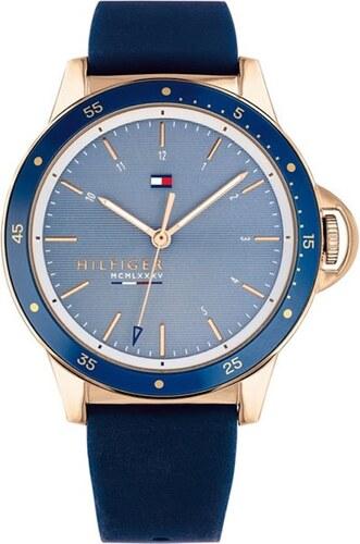 Ρολόι Tommy Hilfiger Diver με μπλε λουράκι και γαλάζιο καντράν 1782027 80e56081407