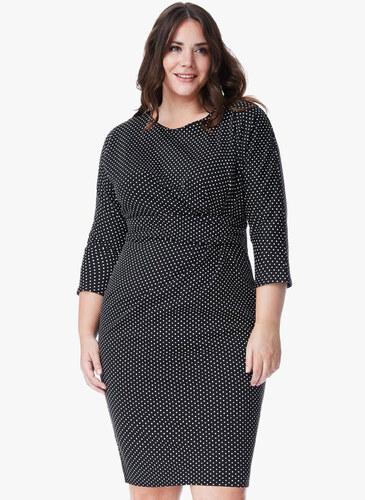 Φόρεμα Midi 3 4 Μανίκι - Glami.gr 1dbe6df1a2f