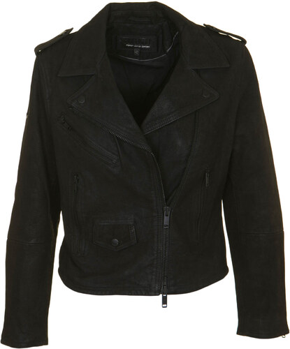 ca63259c8bc6 SUPERDRY W MHAIRI NUBUCK LEATHER BIKER JACKET - G50011AP-02A BLACK ...