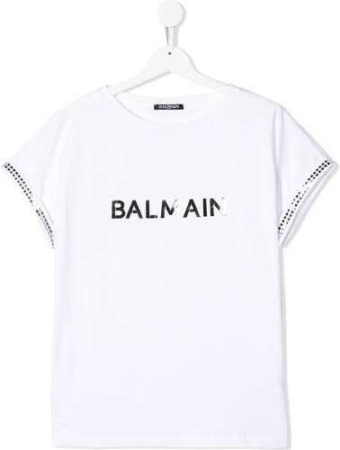 78b314e32bf Balmain Kids TEEN logo printed T-shirt - White - Glami.gr