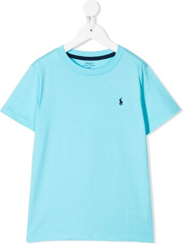 cf67c7f55f8b Ralph Lauren Kids crew neck T-shirt - Blue - Glami.gr
