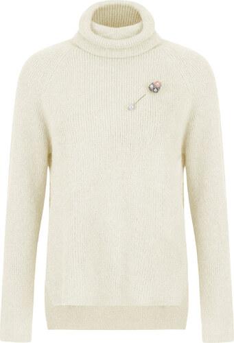 fddbcc526311 Celestino Μεταλλιζέ πουλόβερ με καρφίτσα WL1515.9025+1 - Glami.gr