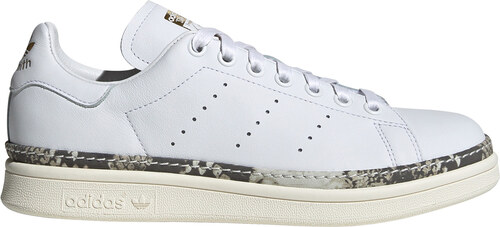 a955f5df0b9 adidas originals STAN SMITH NEW BOLD ΔΕΡΜΑΤΙΝΑ ΛΕΥΚΑ SNEAKERS