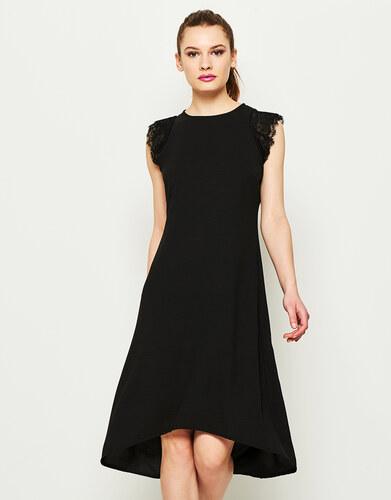 60705919bf79 Lynne Ασύμμετρο φόρεμα με δαντέλα - Glami.gr