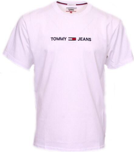 15f1ce4addd7 TOMMY HILFIGER JEANS ΑΝΔΡΙΚΟ T-SHIRT ΛΕΥΚΟ DM0DM05125 100 - Glami.gr