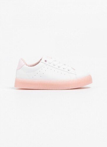 48cb061b606 The Fashion Project Rubber sneakers - Λευκό/Ροζ - 06633059002