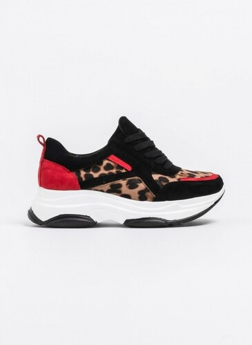 -15% The Fashion Project Suede leopard αθλητικά - Leopard - 06629032006 09f944c5465