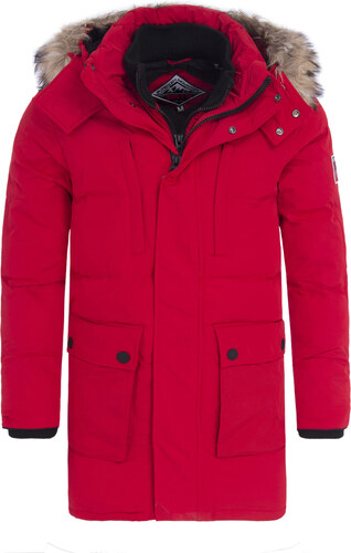 SUPERDRY EXPEDITION PARKA ΑΝΔΡΙΚΟ ΜΠΟΥΦΑΝ M50014GP-RED (RED) - Glami.gr 8a3bd8ffed8