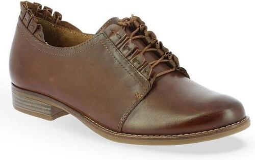 4b42f6b53a8 Γυναικεία Δερμάτινα Oxford Παπούτσια Marcel Ostertag x Tamaris MALIKA 1-1- 23220-21 - Ταμπά