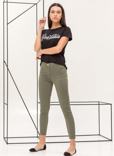 Νέα The Fashion Project Super high skinny ψηλόμεσο τζιν παντελόνι - Χακί -  06748022003 ddfcd2a50f6
