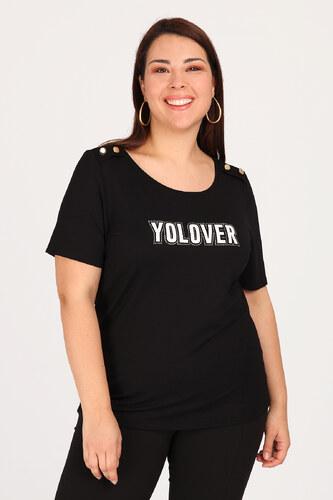 238c6681709a Dina XL Plus Size Κοντομάνικη μπλούζα YOLOVER - Glami.gr