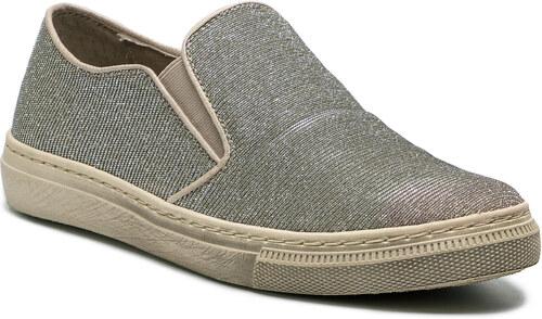 d36dbd6bf6b Πάνινα παπούτσια GABOR - 64.340.62 Platino - Glami.gr