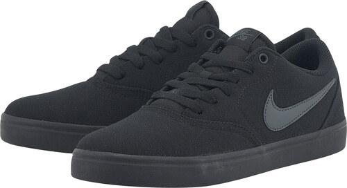 2c8db21335 Nike SB Check Solarsoft Canvas Skateboarding 843896-002 - μαυρο ...