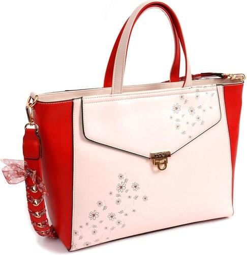 fa34c91783 DOCA Καθημερινή τσάντα μπεζ (14559) - Glami.gr