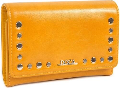96e5292ed2 DOCA Πορτοφόλι κίτρινο (65337) - Glami.gr