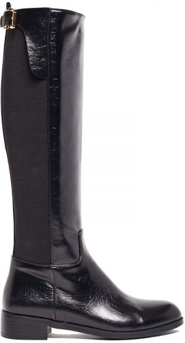 MIGATO Μαύρη μπότα ιππασίας με αγκράφα - Glami.gr b01dc5156e7