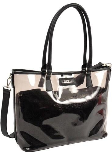 73fdafe956 DOCA Καθημερινή τσάντα μαύρη (14942) - Glami.gr