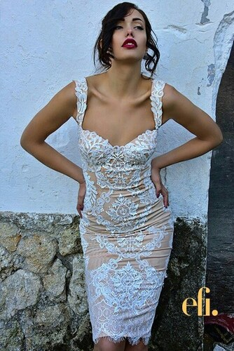 259cb426e1ba richgirlboudoir ΜΙΝΤΙ ΦΟΡΕΜΑ HAUTE COUTURE - Λευκό - 002024 - Glami.gr