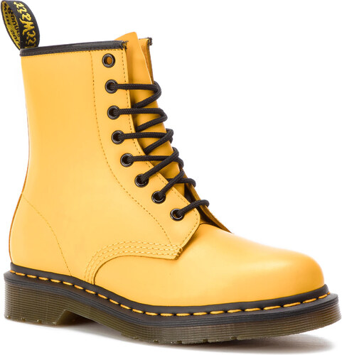 423a4da3733 Αρβύλες DR. MARTENS - 1460 Smooth 24614700 Yellow - Glami.gr