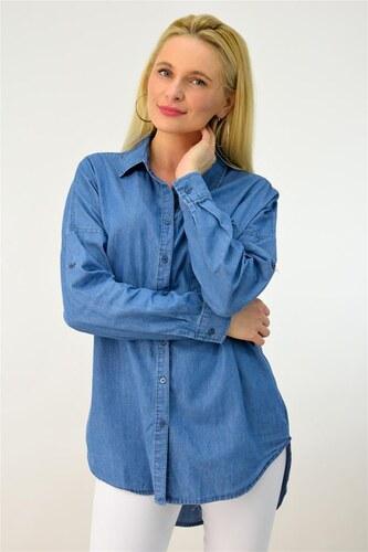 b785eebedb14 Potre Γυναικείο πουκάμισο τζιν oversized - Glami.gr