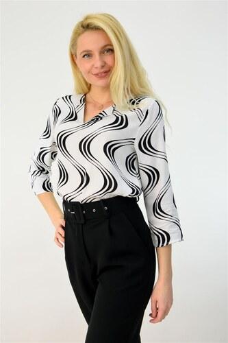 b309184dbdf Potre Γυναικείο πουκάμισο εμπριμέ