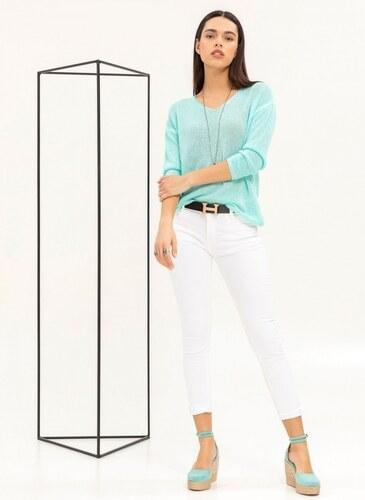 35067d2080e0 -50% The Fashion Project Ελαφριά μπλούζα με αραιή πλέξη - Βεραμάν -  07008017001