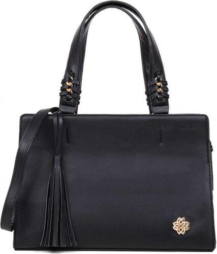 084bfba3a3 MIGATO Μαυρη τσάντα με φούντα - Glami.gr