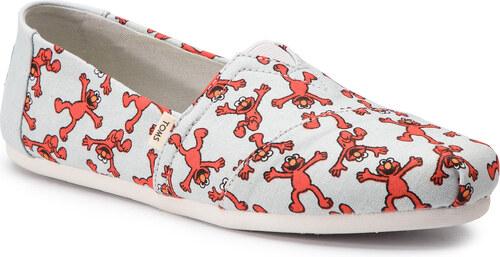 cdeabf09832 Κλειστά παπούτσια TOMS - Classic 10013636 Light Grey Elmo - Glami.gr