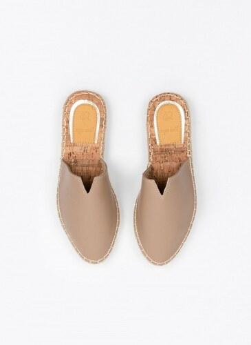 2d19a3e3b5f The Fashion Project Flat mules με σόλα από φελλό - Πούρο - 07163006003
