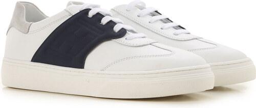 Hogan Παιδικά Παπούτσια για Αγόρια Σε Έκπτωση, Λευκό, Δέρμα