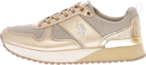 f08d20b8d55 Γυναικεία Παπούτσια Casual Tabitha2 Χρυσό ECOleather U.S. Polo Assn ...