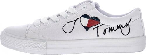 e2102a7f2b9 Παιδικά Παπούτσια Casual Low.Cut Άσπρο Πάνινο Tommy Hilfiger - Glami.gr