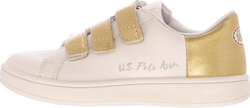 fb8cdfa82a1 Παιδικά Παπούτσια Casual Gaia Άσπρο ECOleather U.S. Polo Assn ...