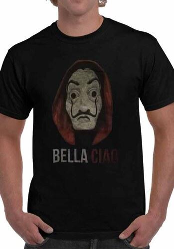 c8d5aaefc315 Keya Ανδρικό Κοντομάνικο T-Shirt - BELLA CIAO - Keya - Μαύρο - BC112 ...