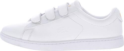 aa49e21da51a Γυναικεία Παπούτσια Casual Carnaby.Evo.Strap Άσπρο Δέρμα Lacoste ...