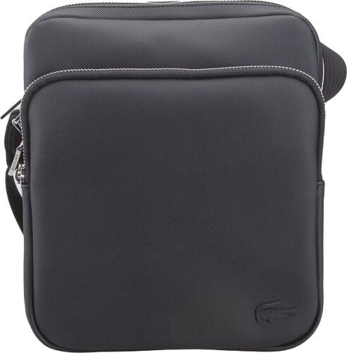 b420191bf1 Ανδρικό τσαντάκι ώμου Lacoste NH2343HC 000 Black crossover bag pvc ...