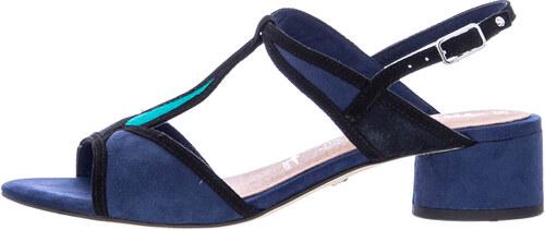 9e65167b113 Γυναικεία Πέδιλα Χαμηλά 28256 Μπλε Δέρμα Καστόρι Tamaris - Glami.gr
