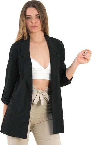 a3e26da6a036 Γυναικείο μαύρο σακάκι Marlen 1176099 - Glami.gr