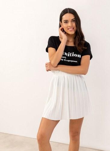 29479a76a94 The Fashion Project Πλισέ mini φούστα - Λευκό - 07433001001 - Glami.gr
