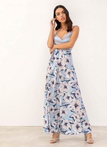 d06850ab5ea4 The Fashion Project Maxi φόρεμα με floral pattern - Γαλάζιο - 07214018001