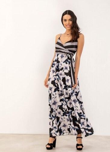 43f397346fb9 The Fashion Project Maxi φόρεμα με floral pattern - Μαύρο - 07214002001